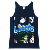 Little Champions - Masters - Men's Festival Fashion Singlet