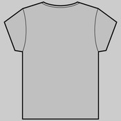 K4L Wa Nin (Front), Rikihittatsu (Back) - Women's Bevel Boutique Fashion V Neck by 'As Colour '